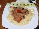 Spaghetti s tuňákem recept