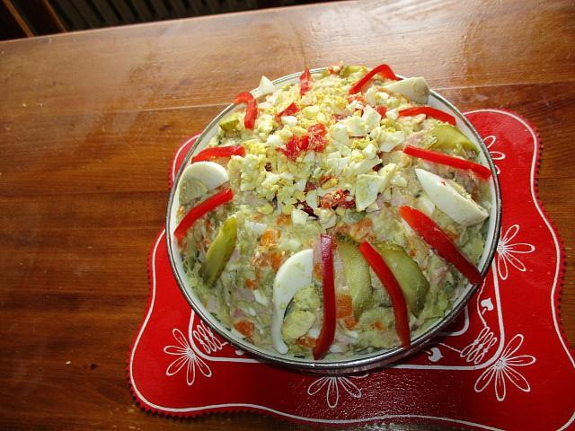 Klasický bramborový salát recept