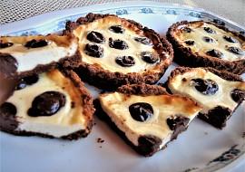 Puntíkované malé cheesecaky recept