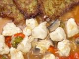 Kuřecí směs s bramborákem recept