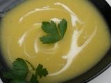 Polévka z muškátové dýně se zázvorem recept