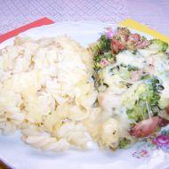 Brokolice s těstovinami recept