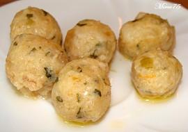Sýrové knedlíčky rychlé  zavářka do polévky recept