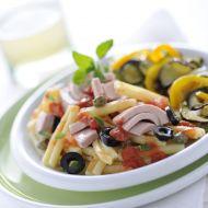 PerPasta alla Puttanesca se středomořskou zeleninou recept ...