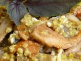 Smažené houby s vajíčky recept