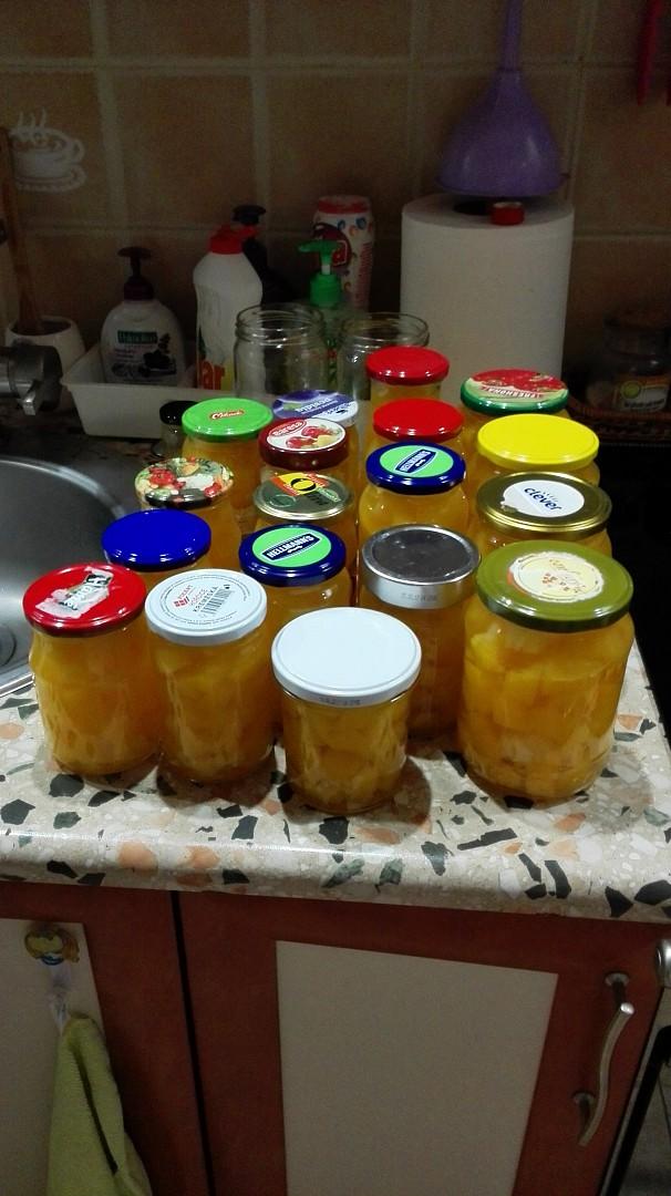 Dýňový kompot s ananasem, zavařený v myčce recept  TopRecepty ...