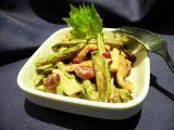 Dvojfazolný salát s kuřecím masem recept