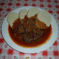 Segedínský guláš z kližky recept