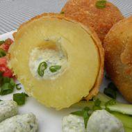 Smažené plněné brambory recept