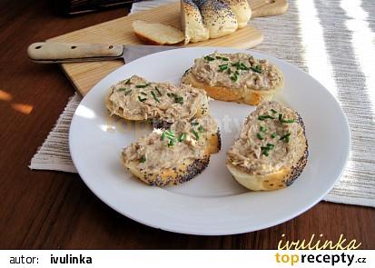 Pomazánka z uzené makrely, Nivy a sýru Cottage recept ...