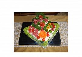 Slaný dort  patrový recept