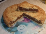 Křupavý ořechový koláč recept
