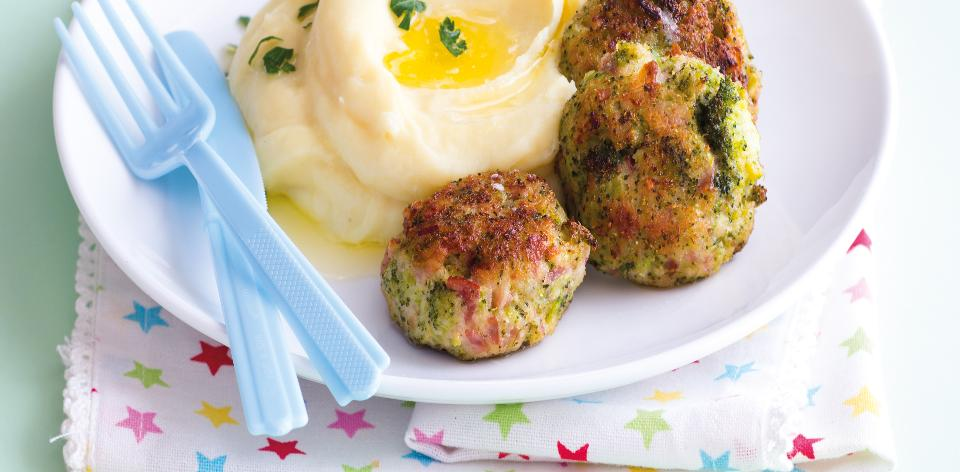 Brokolicové karbanátky z trouby