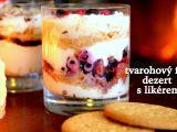 Fofr dezert z tvarohu, likéru a sušenek recept