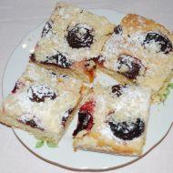 Staročeský švestkový koláč recept