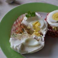 Slané velikonoční cupcakes recept