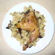 Maminčino kuře s játry recept