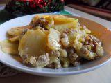 Zapečené brambory ve smetaně s mletým masem recept ...