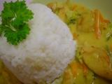 Kuřecí na kari se zeleninou recept