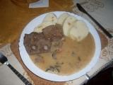 Šumavská pečeně recept