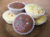 Veselé muffinky recept