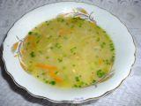 Pórková polévka s mrkví a vločkami recept
