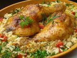 Kuřecí stehna pečená s rýži z jednoho pekáčku recept  TopRecepty ...