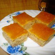 Cuketová buchta s marmeládou recept