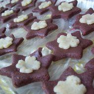 Hvězdičky s marcipánem recept