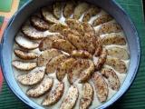 Jogurtový koláč s jablky recept