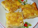 Kynutá hruškovo-smetanová buchta recept