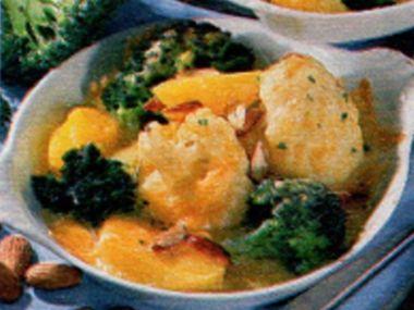 Brokolicovo-květákový nákyp