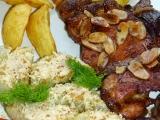 Kuřecí steaky s gratinovaným fenyklem recept