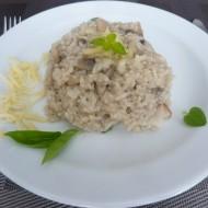 Krémové žampionové rizoto recept