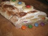 Banánovo-lentilková nepečená torta. recept