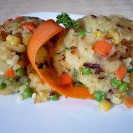 Šťouchané brambory se zeleninou recept