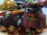 Bizoní žebra  marinovaná, pečená recept