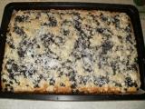 Hrníčkový borůvkový koláč na plechu recept