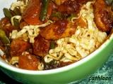 Kuřecí maso s čínskými nudlemi recept