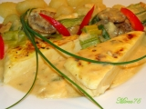 Shmaky se zeleninou a smetanovou omáčkou recept