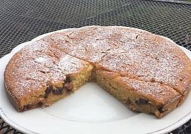 Cuketový hrníčkový koláč s brusinkami a hořkou čokoládou podle ...