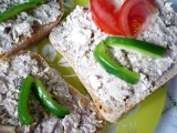 Sardinková pomazánka s tofu recept