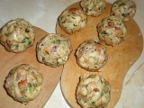 Špekové knedlíky s bylinkami recept