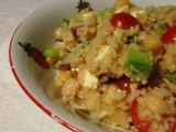 Kuskusový salát s cizrnou recept