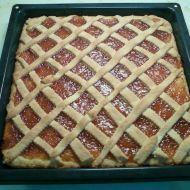 Hrnkový mřížkový koláč recept