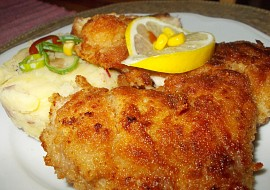 Smažené kuřecí řízky se zázvorem a kouřovou solí recept ...