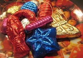 Čokoláda  kolekce na vánoční stromeček recept