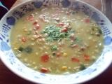 Drožďovo-vločková polévka recept