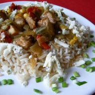 Kuřecí směs se zeleninou recept