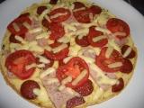 Blesková pizza na pánvi recept